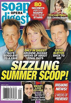 July 17, 2017 issue of Soap Opera Digest magazine