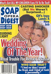 Soap Opera Digest - July 18, 2000