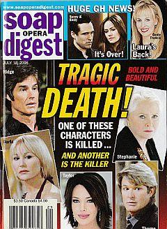 Soap Opera Digest July 18, 2006