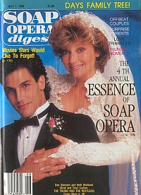 July 1, 1986 Soap Opera Digest