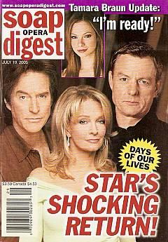 Soap Opera Digest July 19, 2005