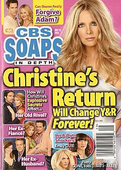 CBS Soaps In Depth July 19, 2010