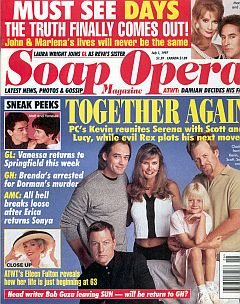 Soap Opera Magazine July 1, 1997