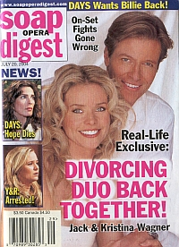 Soap Opera Digest July 20, 2004