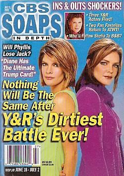 CBS Soaps In Depth July 2, 2002