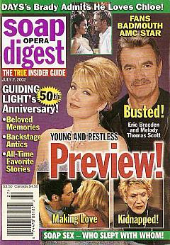 Soap Opera Digest July 2, 2002