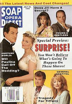 July 20, 1993 Soap Opera Digest