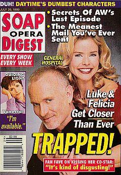 Soap Opera Digest - July 20, 1999