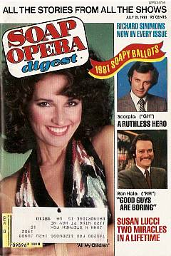 July 21, 1981 issue of Soap Opera Digest