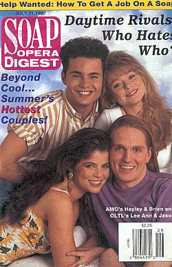 Soap Opera Digest July 21, 1992