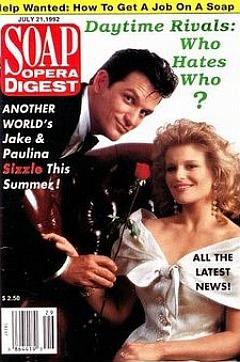 Soap Opera Digest July 21, 1992