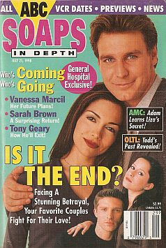 ABC Soaps In Depth - July 21, 1998