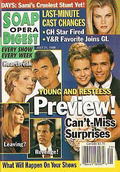 Soap Opera Digest - July 21, 1998