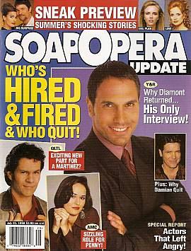 Soap Opera Update July 21, 1998