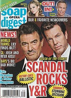 Soap Opera Digest July 22, 2008