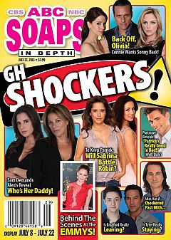 July 22, 2013 issue of ABC Soaps In Depth soap opera magazine