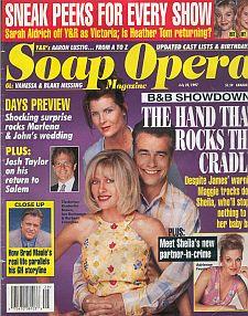 Soap Opera Magazine July 22, 1997