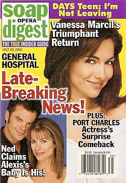 Soap Opera Digest July 23, 2002
