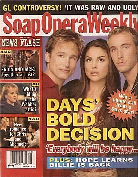 Soap Opera Weekly July 23, 2002