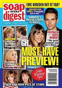 Soap Opera Digest July 23, 2012