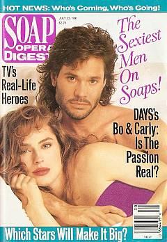 Soap Opera Digest July 23, 1991