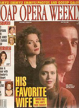 Soap Opera Weekly July 23, 1991