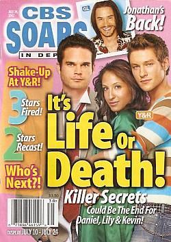 CBS Soaps In Depth July 24, 2007
