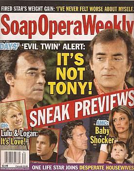 Soap Opera Weekly July 24, 2007