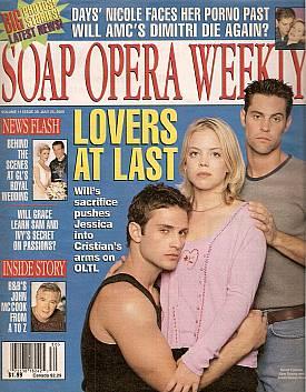 Soap Opera Weekly July 25, 2000