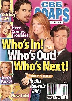 CBS Soaps In Depth July 25, 2006