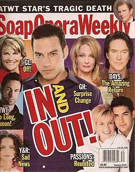 Soap Opera Weekly July 25, 2006