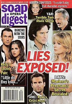 Soap Opera Digest July 26, 2005