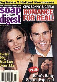 Soap Opera Digest July 27, 2004