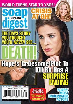 Soap Opera Digest July 27, 2010