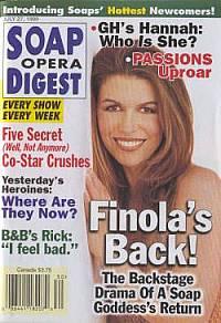 Soap Opera Digest - July 27, 1999