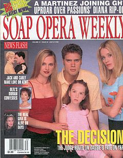 Soap Opera Weekly July 27, 1999