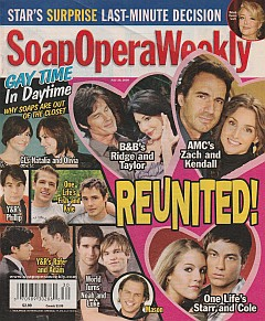 Soap Opera Weekly July 28, 2009
