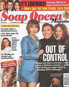 Soap Opera Magazine July 28, 1998
