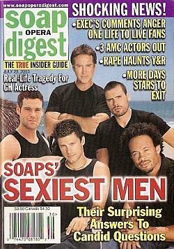 Soap Opera Digest July 29, 2003