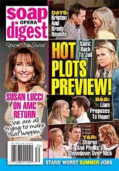 Soap Opera Digest July 29, 2013