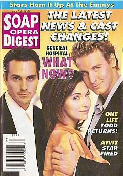 Soap Opera Digest - July 2, 1996