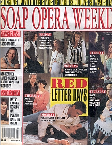Soap Opera Weekly July 2, 1996