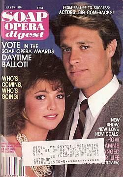 Soap Opera Digest July 29, 1986