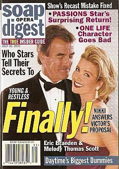 Soap Opera Digest July 30, 2002
