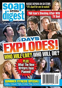 Soap Opera Digest July 30, 2012