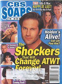 CBS Soaps In Depth July 3, 2001