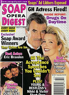 Soap Opera Digest July 3, 2001