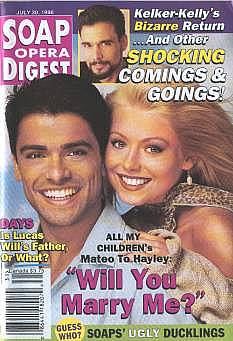 Soap Opera Digest - July 30, 1996