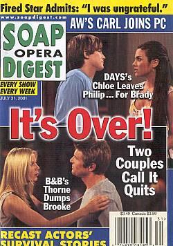 Soap Opera Digest July 31, 2001