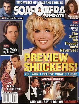 Soap Opera Update July 31, 2001